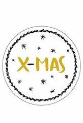 Kerstcadeau kaartjes/stickers/tape