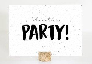 Kaarten Feest/Party