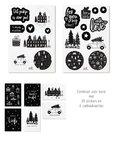 Kerst cadeau stickers
