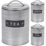 voorraadbussen thee koffie