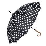 Paraplu Zwart Wit Stippen