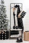 kerstboom mand zwart