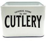 Bestekhouder Cutlery emaille look