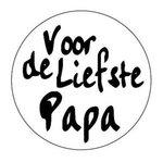 Stickers 5x | Voor de liefste Papa