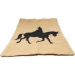 Sinterklaas op Paard cadeau zak Jute