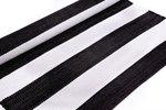 Vloerkleed voor buiten |Zwart-Wit