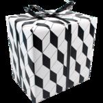 Inpakpapier | cadeaupapier zwart wit