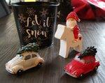 VW KEVER LED licht en Kerstboom
