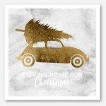 Kerstkaart Moodz/Driving home for Christmas