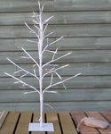 paastak Wit met licht / Hoogte ca. 60 cm.