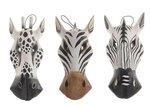 Dierenmasker Zebra/Giraffe S