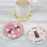 Onderzetters BEES, Bijen
