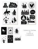 Sint stickers en kaartjes