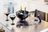 Martini glazen Zwart set 6
