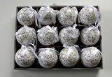 Kerstbal HO HO set 2 _