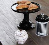 Miss Etoile Cake Stand serveerschaal op voet zwart
