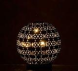 LAMP LED BAL OOSTERS ZWART WIT J-LINE
