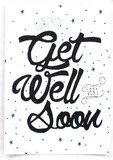 Kaart Get well soon_