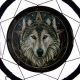 Dromenvanger | Wolf | 33 cm._