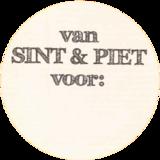 Stickers   10x   Van Sint en Piet..._