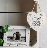 Fotolijst | Love you to the Moon and back Stars
