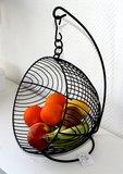 Fruitmand | Fruitschaal Hangend Zwart