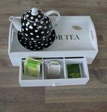 Dienblad met lade | Tea_