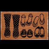 Deurmat schoenen_