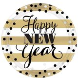 Bord | HAPPY NEW YEAR 23 cm._