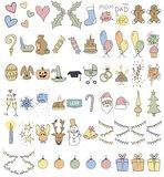 Feestdagen Emoticons, plaatjes voor de Lightbox A5-A4-A3 _