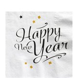 Servetten| HAPPY NEW YEAR 33 cm._