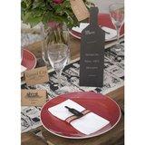 Krijtbord wijnfles staand 29 cm_