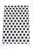 Vloerkleed |Zwart-Wit stippen_