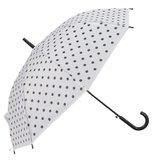 Paraplu | stippen wit zwart_