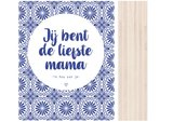 Houtblok Hollands De liefste Mama..| DOTS_