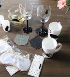 Wijnglas markers | Katten_