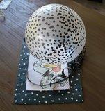Ballonnen   confetti   Zwart-Wit_