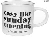 "Mok "" Easy like sunday morning..""_"