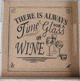 wijn dienblad