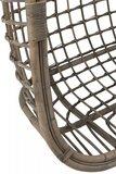 Hangstoel voor 2 personen Rotan  /  J-LINE_