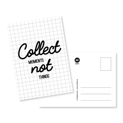 Kaart: Collect moments not things