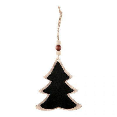 Kerstboom krijtbordje