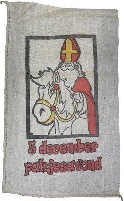 Sinterklaas cadeau zak Jute