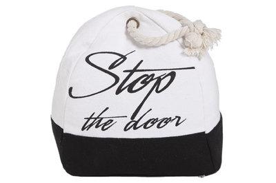 DEURSTOP STOP...WIT ZWART STOP THE DOOR