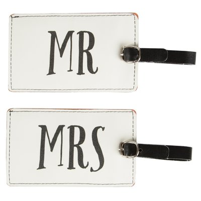 Koffer labels | Mr & MRS set