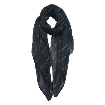 Sjaal |zwart wit