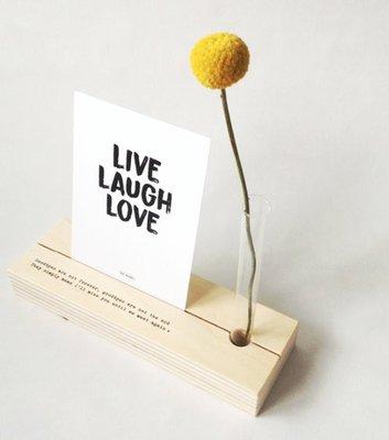 Memory shelf Fotohouder/vaasje, ter herinnering, Voor altijd in ons hart