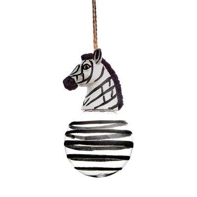 Kerstbal Luxe Zebra