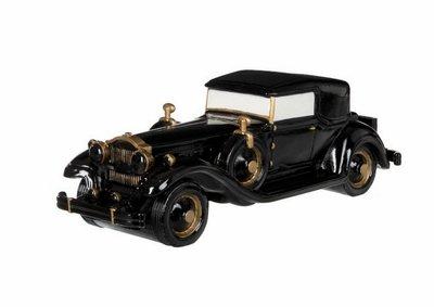 Auto Twenties zwart goud J-LINE