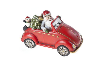 VW Kever & Kerstman